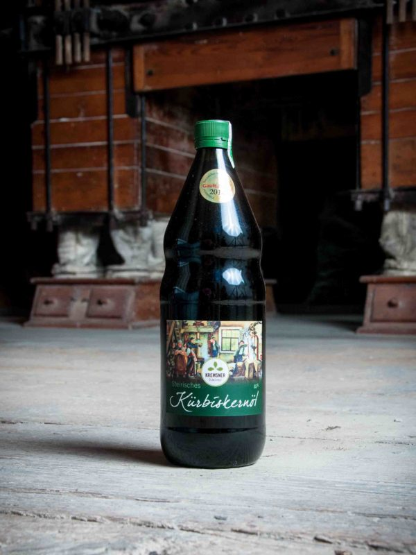 Kürbiskernöl Flasche Kremsner