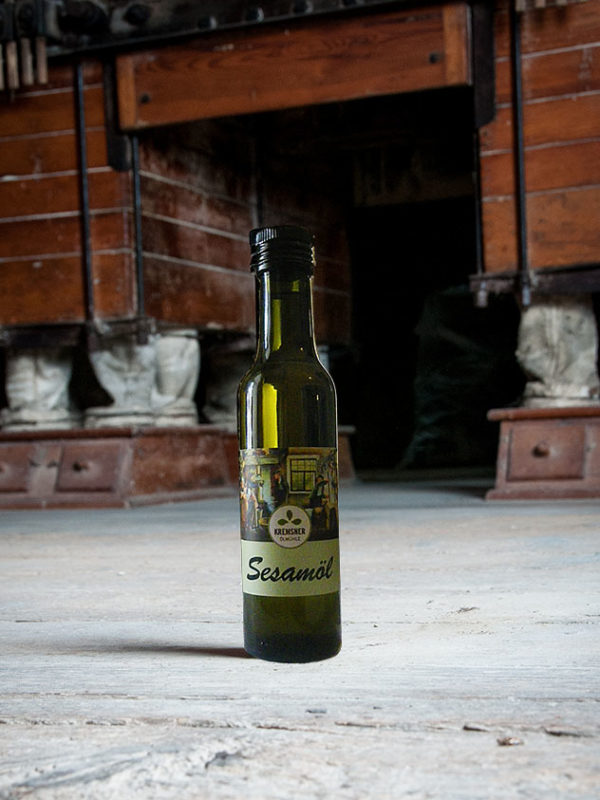 Sesamöl Flasche Kremsner