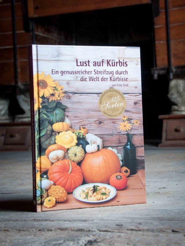 Buch Rezept Lust auf Kürbis Kremsner