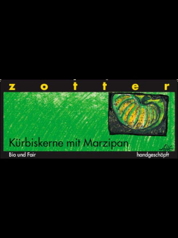 Zooter Schokolade Kuerbiskerne Marzipan Kremsner