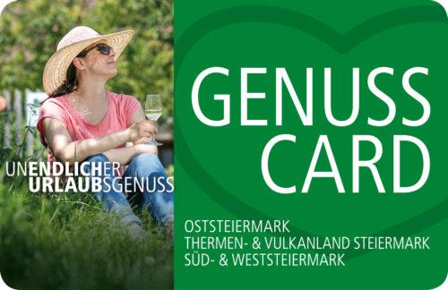genuss card weststeiermark südsteiermark kremsner