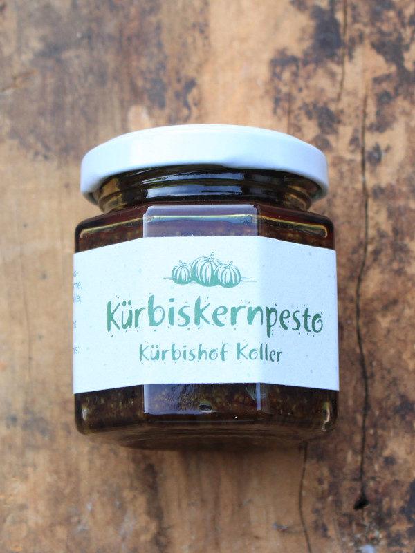 Kürbiskern Pesto Glas Kremsner
